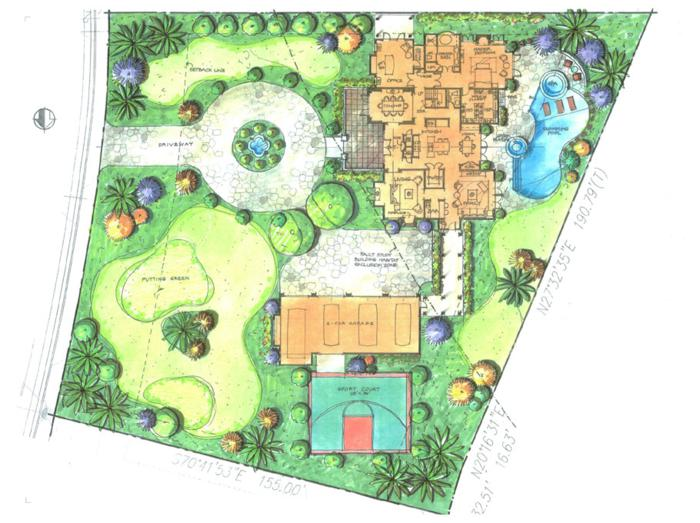 Mariposa ranch design guidelines lca architects Site plan design