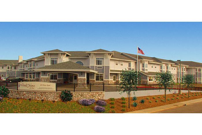 Windchime Senior Living Facility LCA Architects