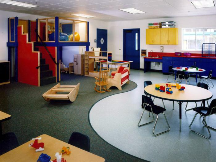 Children's Church Classroom Designs http://lca-architects.com/northcreek-church/