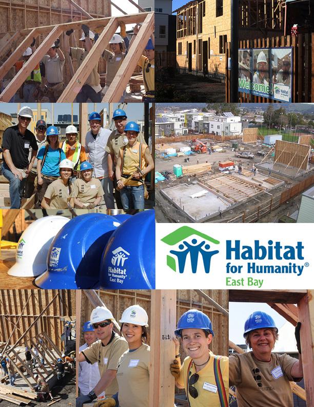 Habitat for Humanity East Bay Executive Build