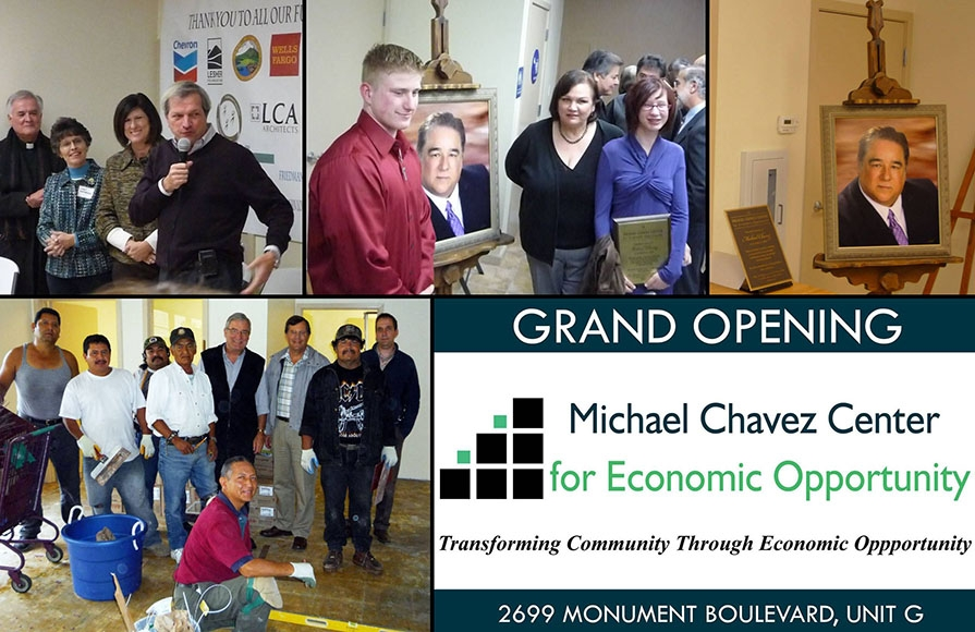 Michael Chavez Center Opening