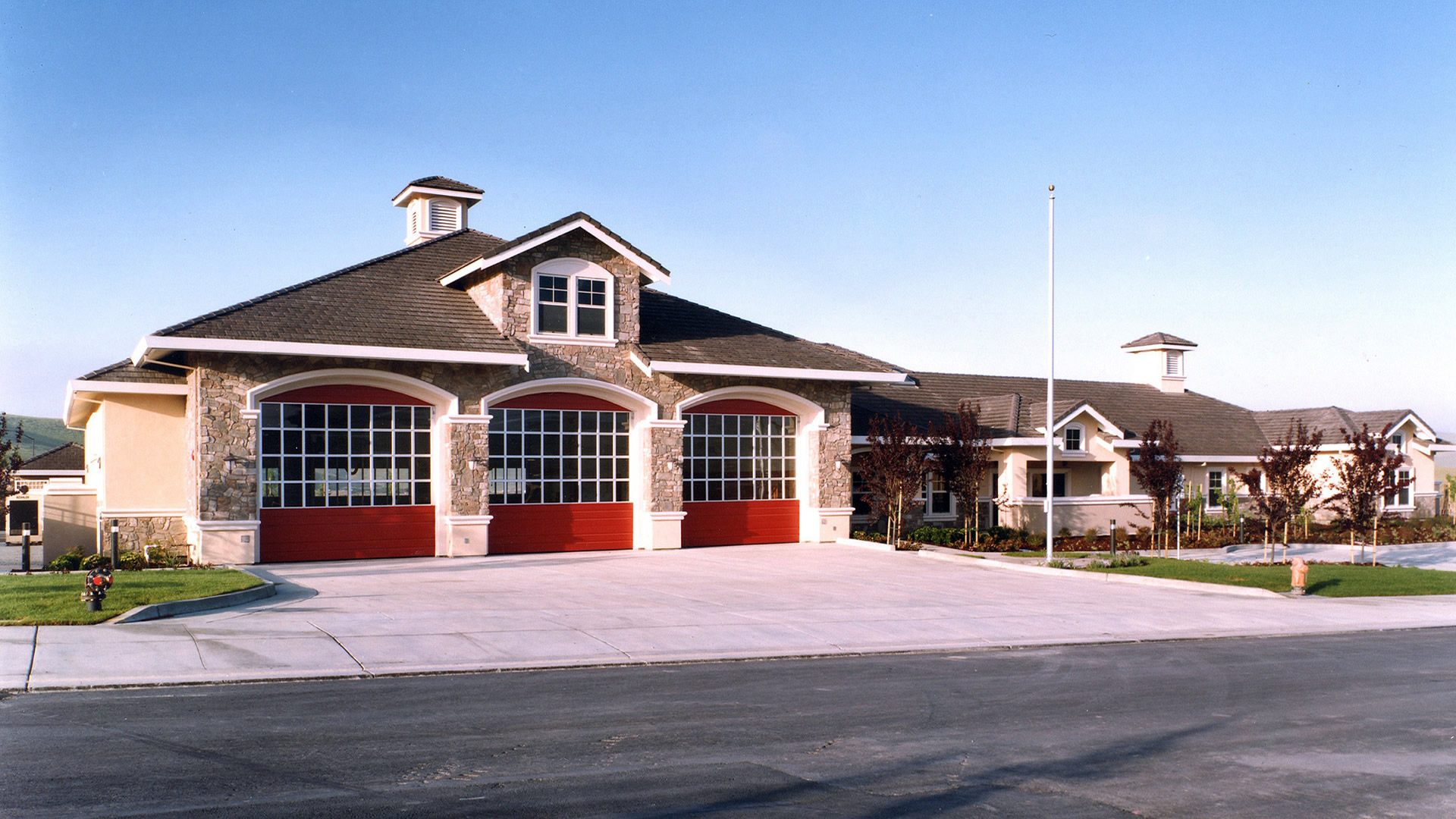 Fire Station 30 Lca Architects